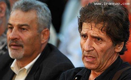 عکس های دردناک از چهره سوپر استار سینمای ایران ، www.irannaz.com