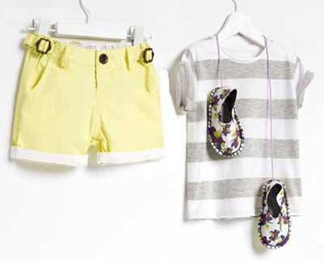 مدل لباس های جدید بچه گانه مارک زارا / تصویر